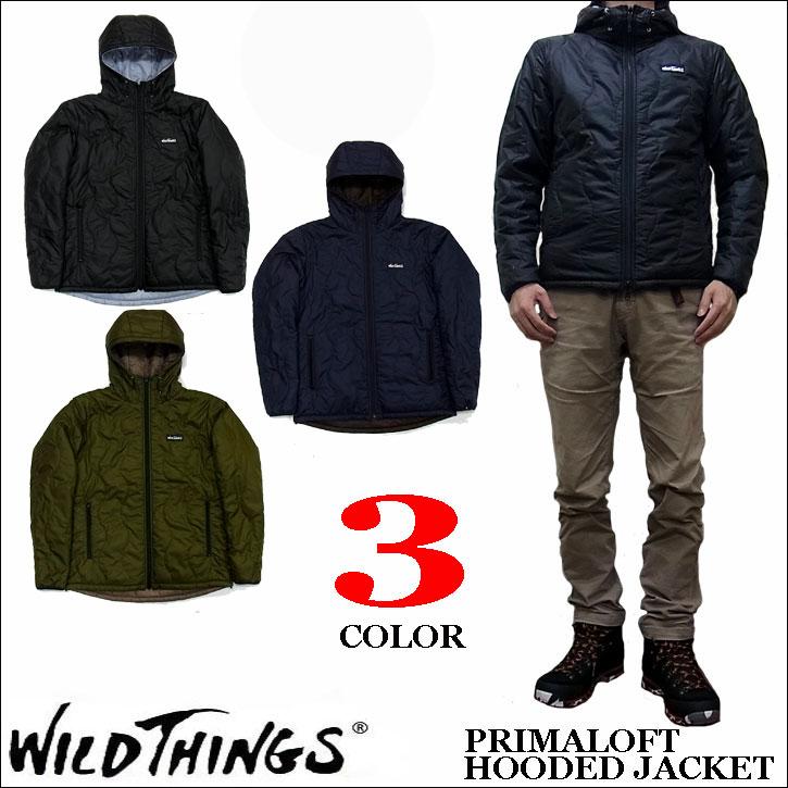 ワイルドシングス 2016-2017モデル プリマロフト フーデッド ジャケット