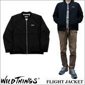 2017新作 WILD THINGS FLIGHT JACKET ワイルドシングス フライトジャケット WILDTHINGS WT17015A 【smtb-td】