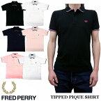 2018新作 FRED PERRY TIPPED PIQUE SHIRT F1580 全6色 フレッドペリー ティップラインポロシャツ 日本製