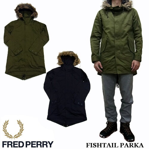 FRED PERRY FISHTAIL PARKA F2476 フレッドペリー モッズコート M-51