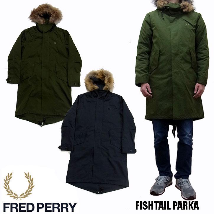 FREDPERRY(フレッドペリー)『MENFISHTAILPARKAF2562』