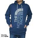 ノースフェイス パーカー メンズ ビックロゴ スウェットパーカー ブルー 青 The North Face Men's Trivert Hoodie Pullover Cosmic Blue Heather/Mid Grey Multi【コンビニ受取対応商品】