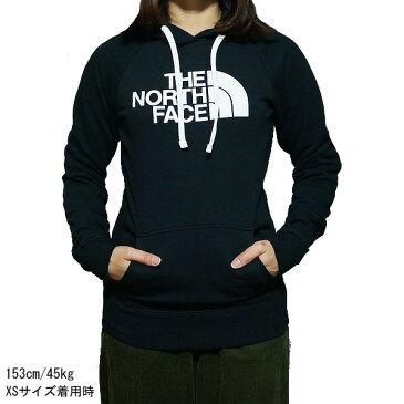 ノースフェイス パーカー レディース ハーフドーム プルオーバー フード黒 コード白 The North Face Women Half Dome Hoodie Pullover TNF Black/TNF White【コンビニ受取対応商品】