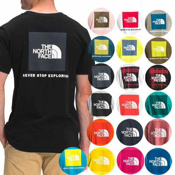 ノースフェイスTシャツメンズS-XXLバックプリントレッドボックス半袖Tシャツ大きいサイズ海外 TheNorthFaceMen'