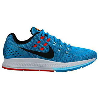 (索取)NIKE耐吉女士跑步鞋運動鞋空氣變焦距鏡頭結構19 Nike Women's Air Zoom Structure 19 Blue Lagoon Copa Bright Crimson Black