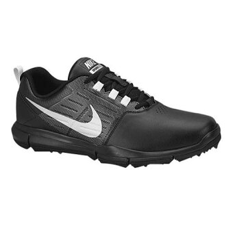 (索取)NIKE耐吉人資源管理器SL高爾夫球鞋Nike Men's Explorer SL Golf Shoe Black Cool Grey Metallic Silver[支持便利店領取的商品]