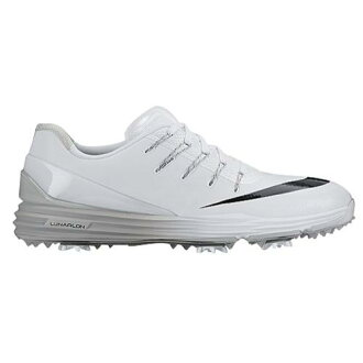 (索取)NIKE耐吉人月神支配4高爾夫球鞋Nike Men's Lunar Control 4 Golf Shoe White Wolf Grey Black