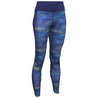 (索取)andaamaredisuamakorudogiataitsu UNDER ARMOUR Women's Armour Coldgear Tights Europa Purple[支持便利店領取的商品]