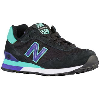 (索取)新平衡女士515 New balance Women's 515 Black Reef Green Purple