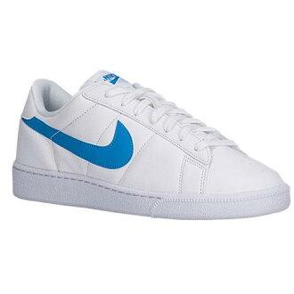 NIKE耐吉運動鞋人網球古典白藍色白Nike Men's Tennis Classic White Orion Blue[支持便利店領取的商品]