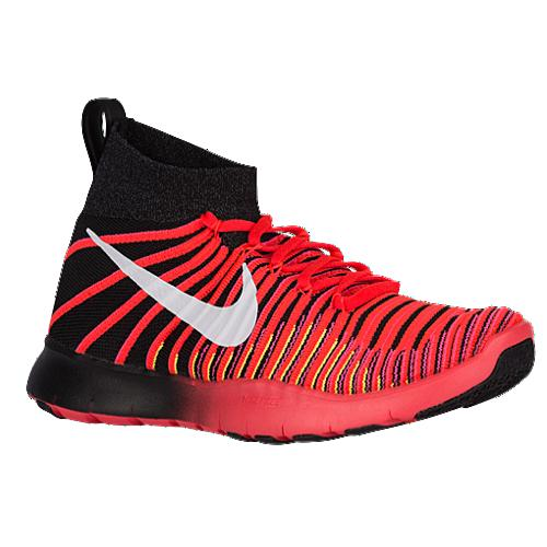 (取寄)NIKE ナイキ メンズ スニーカー フリー トレイン フォース フライニット Nike Men's Free Train Force Flyknit Black Dark Grey White Bright Crimson
