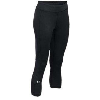 (索取)andaamaredisu HG amakuroppu Under Armour Women's HG Armour Crop Black Metallic Silver[支持便利店領取的商品]