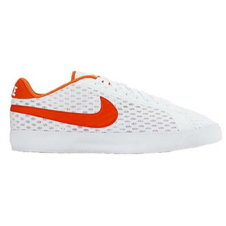 (索取)NIKE耐吉人大衣皇家流通運動鞋網球Nike Men's Court Royale Flow White Total Crimson[支持便利店領取的商品]