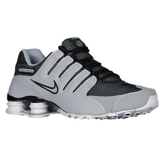 (索取)NIKE耐吉人打擊運動鞋NZ運動鞋跑步鞋Nike Men's Shox NZ Black Wolf Grey White Wolf Grey[支持便利店領取的商品]