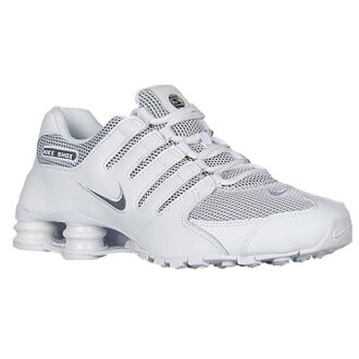 (索取)NIKE耐吉人打擊運動鞋NZ運動鞋跑步鞋Nike Men's Shox NZ White Cool Grey Cool Grey[支持便利店領取的商品]