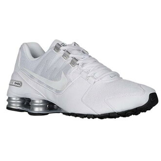 (索取)NIKE耐吉人打擊大街運動鞋跑步鞋Nike Men's Shox Avenue White Metallic Silver White Black[支持便利店領取的商品]