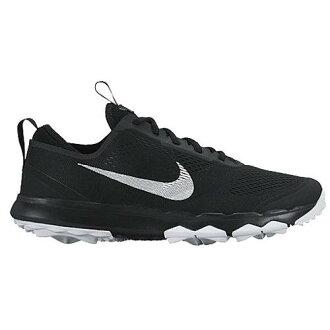 (得到 CDN) NIKE 耐克男子 FI 百慕達高爾夫球鞋耐克男士 FI 百慕達高爾夫球鞋黑白色白色 02P28Sep16