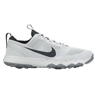 (得到 CDN) NIKE 耐克男子 FI 百慕達高爾夫球鞋耐克男士 FI 百慕達高爾夫球鞋純鉑無煙煤白色