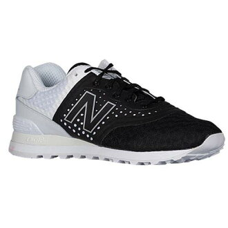(索取)新平衡人574再技術員休閒運動鞋New balance Men's 574 Re Engineered Black White