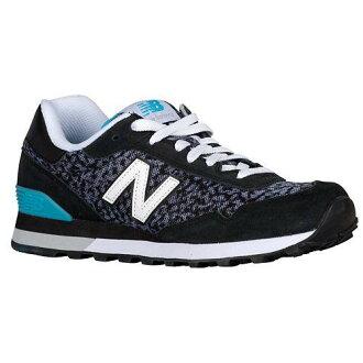 (索取)新平衡女士515休閒運動鞋New balance Women's 515 Black Blue