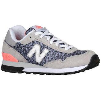(索取)新平衡女士515休閒運動鞋New balance Women's 515 Grey Coral