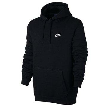 (取寄)NIKE パーカー 黒 ナイキ メンズ パーカー NSW クラブ プルオーバー フーディ Nike Men's NSW Club Fleece Pullover Hoodie Black Black White 【コンビニ受取対応商品】
