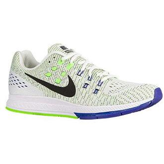 (索取)NIKE耐吉人空氣變焦距鏡頭結構19訓練鞋跑步鞋Nike Men's Air Zoom Structure 19 White Black Electric Green Concord