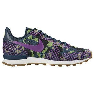 (索取)NIKE耐吉女士國際主義者訓練鞋跑步鞋Nike Women's Internationalist Teal Vivid Purple Mid Teal Ghost Green[支持便利店領取的商品]
