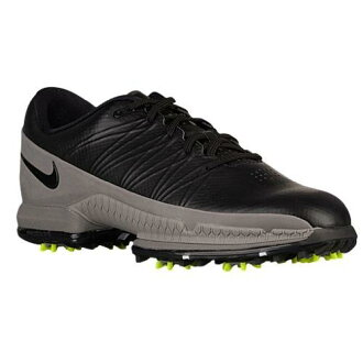 (索取)NIKE耐吉人空氣變焦距鏡頭攻擊高爾夫球鞋Nike Men's Air Zoom Attack Golf Shoes Black Volt Cool Grey