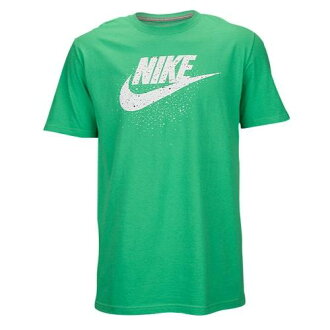 Nike耐吉人標識T恤綠色Nike Men's Graphic T-Shirt Gamma Green White Black