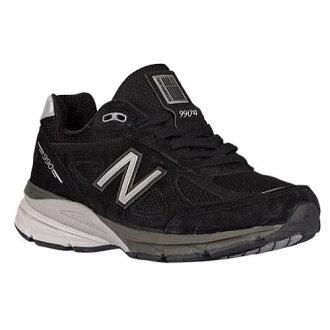 (索取)新平衡女士990 V4休閒運動鞋New balance Women's 990 V4 Black Silver[支持便利店領取的商品]