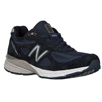 (索取)新平衡人990休閒運動鞋New balance Men's 990 Navy Silver