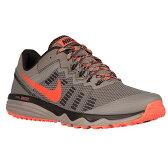(取寄)ナイキ メンズ デュアル フュージョン トレイル 2 Nike Men's Dual Fusion Trail 2 Light Taupe Total Crimson Brown 【コンビニ受取対応商品】