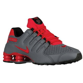 (索取)NIKE耐吉人打擊運動鞋NZ運動鞋跑步鞋Nike Men's Shox NZ Cool Grey Action Red Black Action Red[支持便利店領取的商品]
