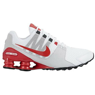 (索取)NIKE耐吉人打擊大街運動鞋跑步鞋Nike Men's Shox Avenue White Action Red Pure Platinum Action Red[支持便利店領取的商品]