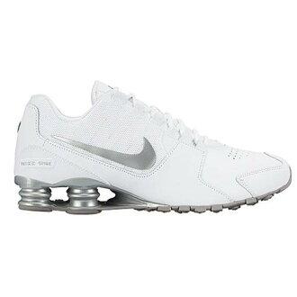 (索取)NIKE耐吉人打擊大街運動鞋跑步鞋Nike Men's Shox Avenue White Metallic Silver Flat Silver Metallic Silver[支持便利店領取的商品]