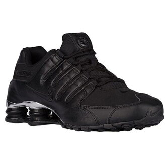 (索取)NIKE耐吉人打擊運動鞋NZ運動鞋跑步鞋Nike Men's Shox NZ Black Chrome Black