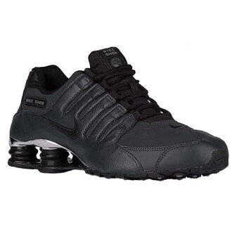 (索取)NIKE耐吉人打擊運動鞋NZ運動鞋跑步鞋Nike Men's Shox NZ Anthracite Black Cool Grey Black