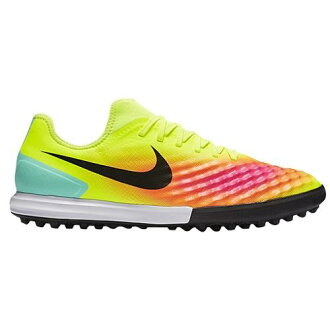 (索取)NIKE naikimenzumajisuta 10壓軸2 tr足球室內五人足球鞋Nike Men's Magista X Finale II TF Volt Total Orange Pink Blast Black