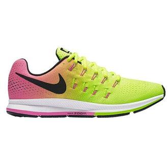 (索取)NIKE耐吉人空氣變焦距鏡頭飛馬座33運動鞋跑步鞋Nike Men's Air Zoom Pegasus 33 Multi Color