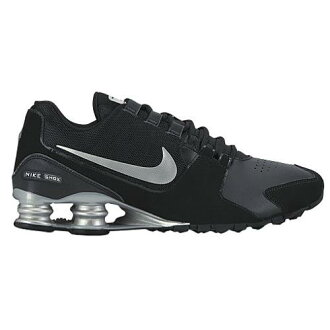 (索取)NIKE耐吉人打擊大街運動鞋跑步鞋Nike Men's Shox Avenue Black Metallic Silver Metallic Silver[支持便利店領取的商品]