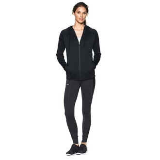 (索取)andaamaredisupakaraitoueitosutomuamafurisu F/Z誰日Under Armour Women's Lightweight Storm Armour Fleece F/Z Hoodie Black[支持便利店領取的商品]