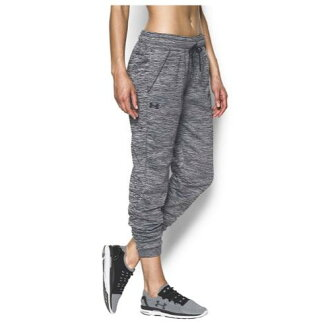 (索取)andaamaredisuraitoueitosutomuamafurisujoga Under Armour Women's Lightweight Storm Armour Fleece Jogger Black Metallic Silver[支持便利店領取的商品]