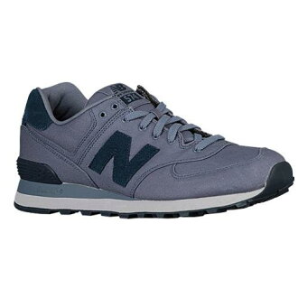 (索取)新平衡人574 New balance Men's 574 Blue Rain