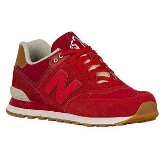 (索取)新平衡人574 New balance Men's 574 Crimson Red Powder[支持便利店領取的商品]