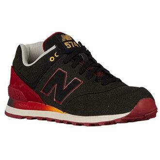 (索取)新平衡人574 New balance Men's 574 Black Red[支持便利店領取的商品]