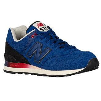 (索取)新平衡人574 New balance Men's 574 Blue Black[支持便利店領取的商品]