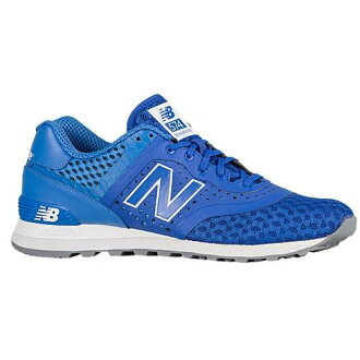 (索取)新平衡人574 shinsetikku New balance Men's 574 Synthetic Blue Sky