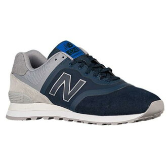(索取)新平衡人574 New balance Men's 574 Navy Grey