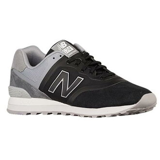 (索取)新平衡人574 New balance Men's 574 Black Grey